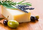 Soap, olives and lavender