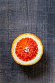 Half a blood orange