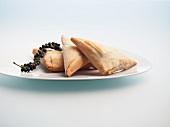 Briouats (pikant gefüllte Teigtäschchen, Marokko)