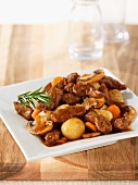 Boeuf bourguignon (beef in red wine sauce, France)