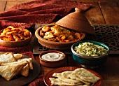 Marokkanisches Menü