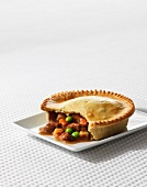 Beef pie with vegetables