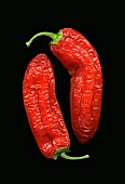 Two dried chillies