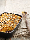 Squash bake with sheep's cheese