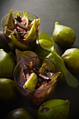 Stewed figs with cinnamon and star anise