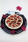 Fig and ricotta cheesecake