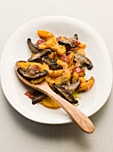 Butternut Squash and Mushrooms