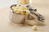 Popcorn in a One Cup Measuring Cup