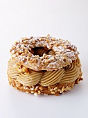 Paris Brest with hazelnut cream, France