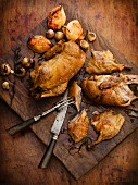 Roast duck with quinces and Madeira