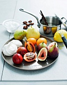 Fruit ingredients for making meringue