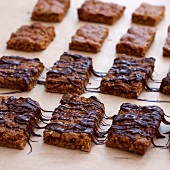 Chocolate Flapjacks (Sweet oat slices, UK)