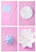 DIY paper umpbrellas