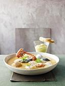 Bouillabaisse (fish soup, France)