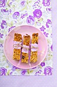 Home-made muesli bars