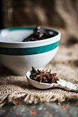 Star Anise in a Measuring Spoon