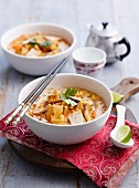 Laksa with vegetables and tofu (Asia)