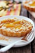 Individual Apricot Tartlet
