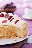 Zabaglione layer cake