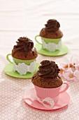 Sacher cupcakes