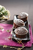 Cardamom muffins for Christmas