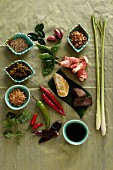 Herbs and spices for Thai cuisine