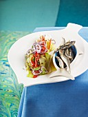 Fennel salad with sardines