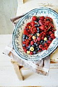 Mixed summer berries