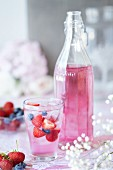Cordial with berries