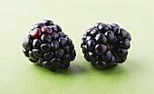 Two blackberries