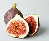 Two half figs and a whole fig