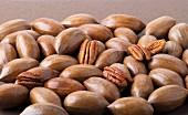 Lots of pecan nuts