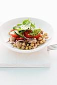 Chick-pea salad
