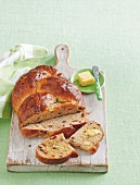 Fig and orange fruit loaf
