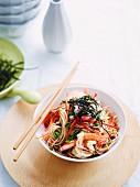 Prawn and soba noodle salad