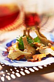 Artichoke and carrot salad