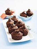 Decadent chocolate Friands