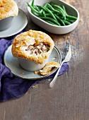 Pork and fennel pot pie
