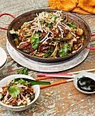 Balinese pork noodles