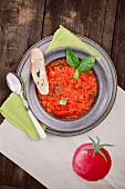 Your Food - Your big Bowl of Comfort - Super Soups for Winter - Pappa al Pomodoro