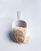 Breadcrumbs in a scoop