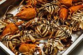Roasted crayfish bones