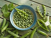 Peas, podded