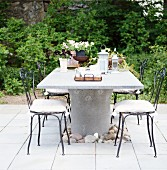 Garden furniture, Sweden.
