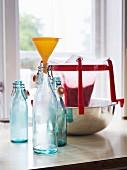 Hausgemachte Limonade zum Abfüllen in Flaschen