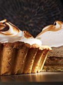 Whisky meringue pie