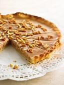 Torta di Montalcino (nut tart, Italy)