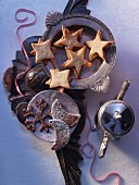 Sable biscuits and Basler Brunsli (Swiss Christmas biscuits)