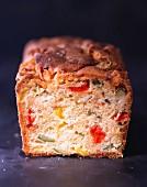Ratatouille cake with rosemary