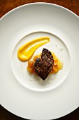 Fried goose liver with chicory & orange marmalade